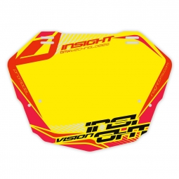 Plaque INSIGHT vision 2 pro yellow/red