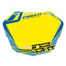 Plaque INSIGHT vision 2 pro yellow/blue