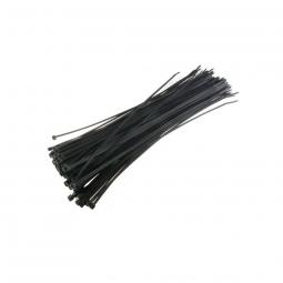 Sachet de 100 colliers rilsan noir 3 0 x 150 mm