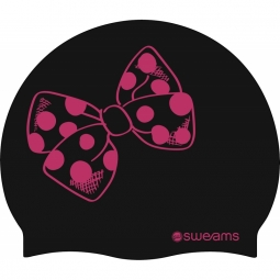 Bonnet sweams big butterfly pink