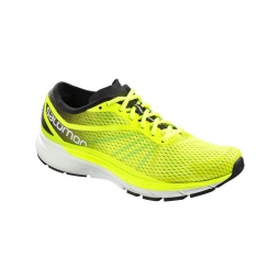 Chaussures de running salomon sonic ra pro jaune fluo 44 2 3