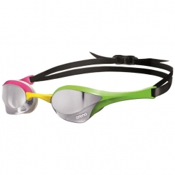 Lunettes arena cobra ultra mirror silver green pink
