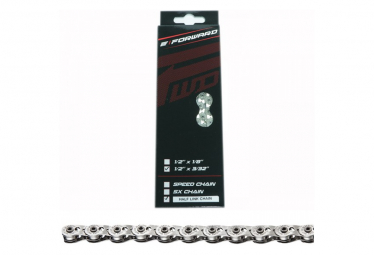 Chain Forward Half Link Chain Silver