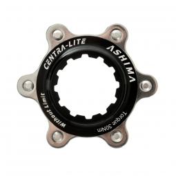 Adaptateur disque de frein 6 trous pour moyeu centerlock axe 9 12 mm