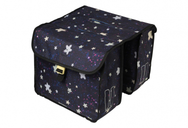 Image of Sacoche double stardust nightshade 20 litres