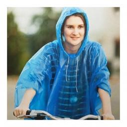 Poncho de pluie avec capuche pour cycliste