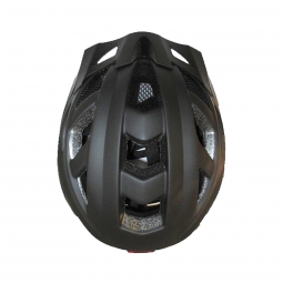 Casque URBAN Noir avec lumière 58-61 cm