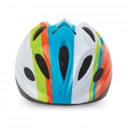 Casque vélo enfant arc-en-ciel - Polisport