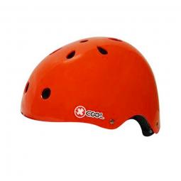 Casque XCOOL rouge 54-58 cm .