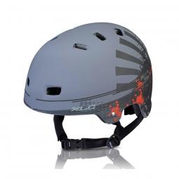 Casque velo xlc urban helm bh c22 53 59 cm noir mat grunge
