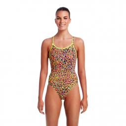 Maillot 1 piece funkita diamond back one piece 42