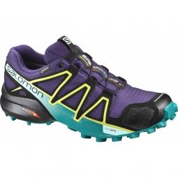 Chaussures salomon speedcross 4 gtx w acai deep peaco 40