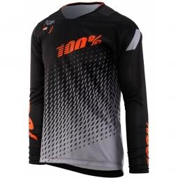 Maillot 100 r core supra black grey l