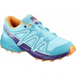 Chaussures salomon speedcross j blue curacao 31
