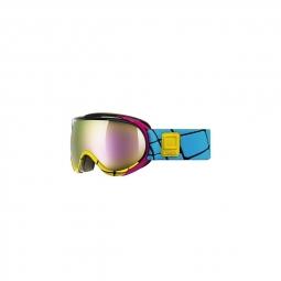 Masque de ski uvex g gl7 pro blk wht yellow
