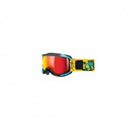 Masque de ski uvex sioux blk lite blue
