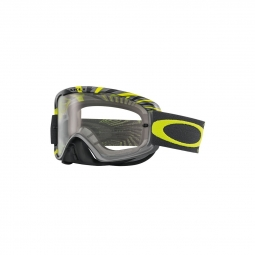 Masque vtt oakley o2 mx rpm gunmetal green clear