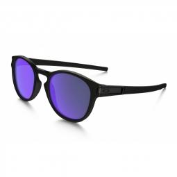 Lunettes de soleil oakley latch matte black violet iridium