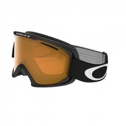 Masque de ski oakley o2 xl matte black persimmon