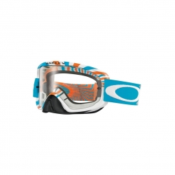 Masque de vtt oakley o2 mx rpm orange blue