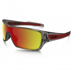 Lunettes oakley turbine rotor grey ink ruby iridium