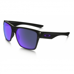 Lunettes de soleil oakley two face xl pol black violet iridium