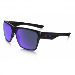 Lunettes de soleil oakley two face xl pol black violet iridium