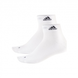 2 paires de chaussettes adidas running light white xs