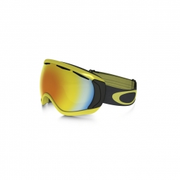 Masque de ski oakley canopy citrus iron fire iridium