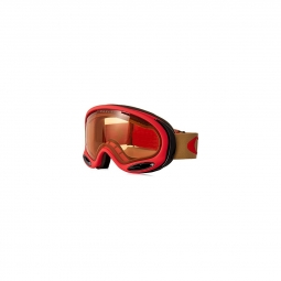 Masque de ski oakley a frame 2 0 copper red persimmon