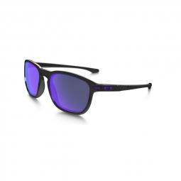 Lunettes oakley enduro black violet polarized