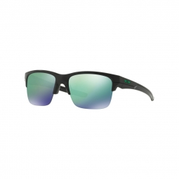 Lunettes oakley thinlink matte black jade iridium