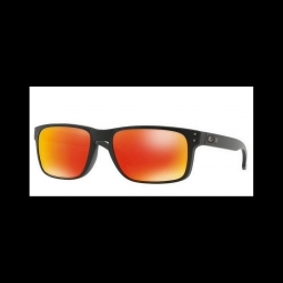Lunettes de soleil oakley holbrook matte black prizm ruby