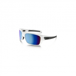 Lunettes oakley turbine xs polished white prizm deep h2o pol