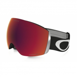 Masque de ski oakley flight deck matte black prizm torch