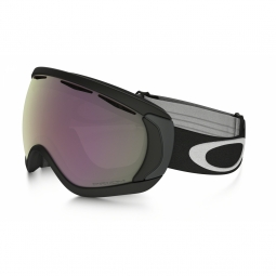 Masque de ski oakley canopy black prizm hi pink