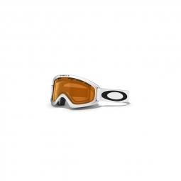 Masque de ski oakley o2 xs matte white persimmon