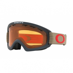 Masque de ski oakley o2 xs grey persimmon