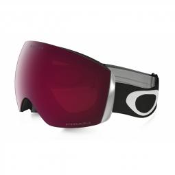 Masque de ski oakley flight deck matte black prizm rose