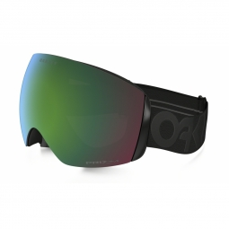 Masque ski oakley flight deck factory blk prizm jade