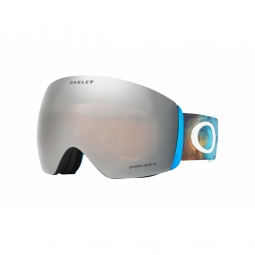 Masque ski oakley flight deck blue prizm black