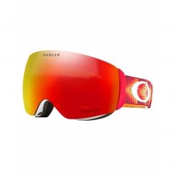 Masque ski oakley flight deck xm red prizm torch