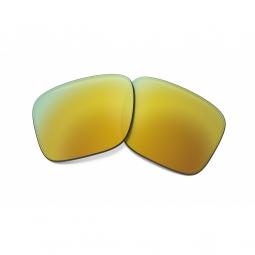 Verres oakley holbrook repl lens 24k gold iridium