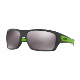 Lunettes oakley turbine dark grey prizm polarized