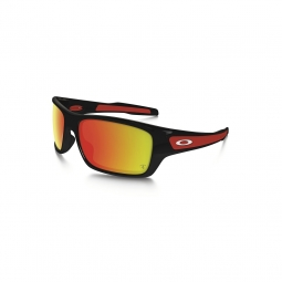 Lunettes oakley turbine black ruby iridium