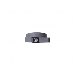 Ceinture Volcom Circle Web Charcoal Heather