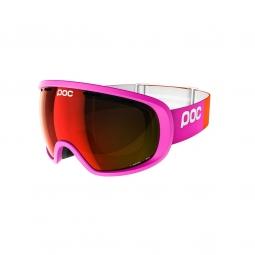 Masque de ski poc fovea fluorescent pink