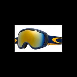 Masque de ski oakley canopy peacoat w 24k iridium