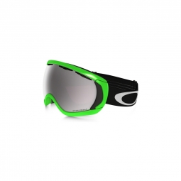 Masque de ski oakley canopy green fire ird