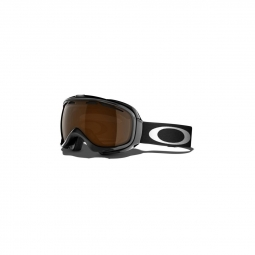 Masque de ski oakley elevate jet black black iridium